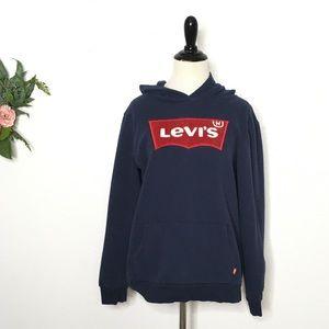 Levi's XL blue women's hoodie